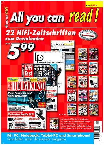 Unbekannt All You can read! - 22 aktuelle HiFi-Zeitschriften zum Downloaden