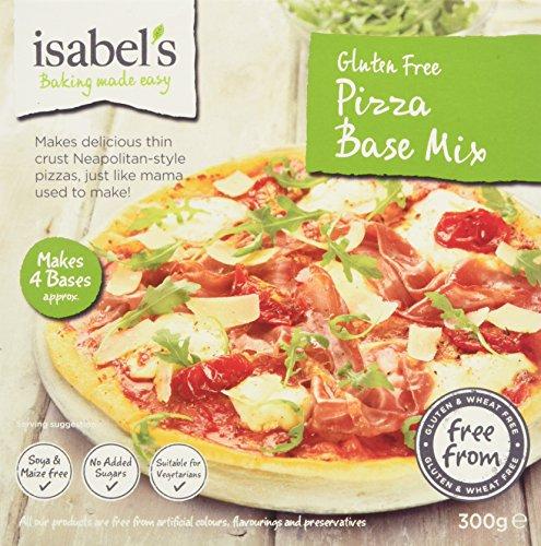 Isabels Gluten Free Pizza Base Mix, 300 g Test