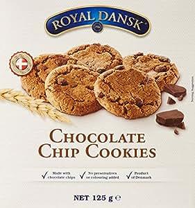 ROYAL DANSK Biscuits aux Pépites de Chocolat 125 g