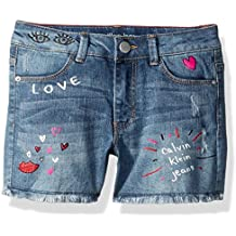 Calvin Klein Girls' Denim Short