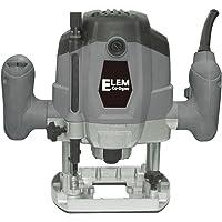 ELEM TECHNIC DF1020-12CB-G Défonceuse, 1020 W, Gris