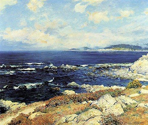 Carmel Spiegel (Das Museum Outlet-Carmel Coast, 1919-Leinwanddruck Online kaufen (76,2x 101,6cm))
