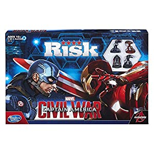 Risk: Captain America: Civil War Edition Game by Hasbro
