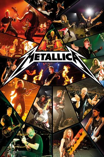 Metallica 61 x 91.5cm Live Maxi Poster, Multi-Colour by Unknown
