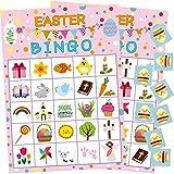Fancy-Land Oster-Bingo-Spiel für Kinder, 24 Spieler, Partyzubehör