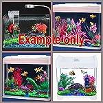 Dimart 6 Pcs Resin High Simulation Chinese Ancient Bungalows Huts Aquarium Ornaments for Fish Tank Khaki 18