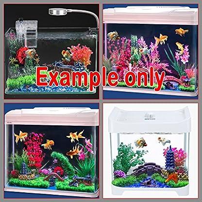Dimart 6 Pcs Resin High Simulation Chinese Ancient Bungalows Huts Aquarium Ornaments for Fish Tank Khaki 9