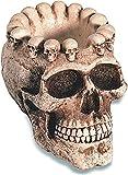 Cenicero gótico cráneo