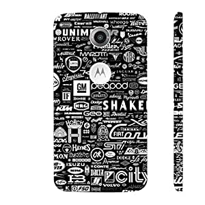 Motorola Moto X2 2nd Gen ALL MOTORS designer mobile hard shell case by Enthopia