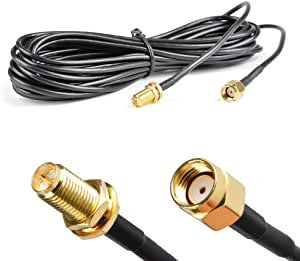 Atpwonz 5m Wlan Antenne Verlängerungskabel Wlan Computer Zubehör