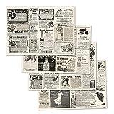Trendform Papier Tischset Zeitungsunterlage Multi-Pad-4x12 Blatt