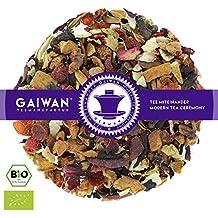 """N° 1332: Tè alla frutta biologique in foglie """"Avvento"""" - 100 g - GAIWAN® GERMANY - tè in foglie, tè bio, mela, rosa canina, cassia, ibisco, arancia, zenzero, chiodo di garofano"""