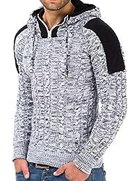 Tazzio - Sweat-shirt à capuche - coupe cintrée - Homme
