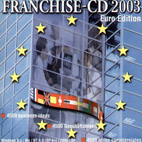 Franchise-CD 2003, 1 CD-ROM 4500 business ideas; 4500 Geschäftsideen, 4500 idees commerciales. Für Windows 9x/me/NT 4.0/(SP 4plus)/2000/XP. Euro Edition