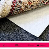 ORNAMENT Profi Teppichunterlage 120 x 60 cm Antirutschmatte Vlies gegen Wellen Antirutsch Matte Teppichbremse Teppichstop Gleitschutz Spezial für Orientteppiche, Brücken, Kelim und Fleckerlteppiche