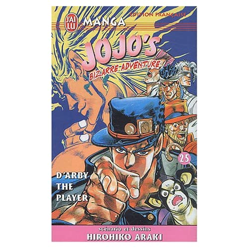 Jojo's Bizarre Adventure, tome 25 : D'Arby The Player