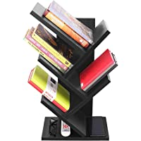 Dime Store Engineered Wood book shelf ,Glossy Finish ,Set Of 4,Black
