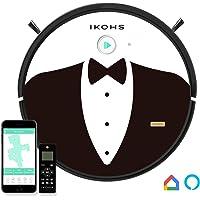 IKOHS NETBOT S15 - Robot aspirateur 4 en 1, Navigation intelligente, Silencieux, 5 Modes de nettoyage, Puissant, Automatique, Convient Pour les Poils d'animaux, WIFI (Netbot s15 / Alfred)