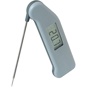 Classic SuperFast Thermapen 3 professional food thermometer in grey colour