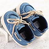 Bluelover Baby Kleinkind Jean Schuhe Weiche Sohle Elegante Prewalker-6-12 M