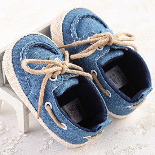 Bluelover Baby Kleinkind Jean Schuhe Weiche Sohle Elegante Prewalker-6-12 M 6m Schuhe