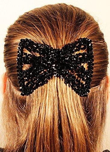 MeBella - Mollette per capelli da donna, elastico con doppio pettine, per creare...