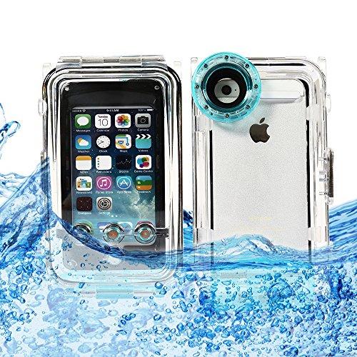CoastaCloud Color verde Funda Estuche carcasa protectora impermeable sumergible hasta 40 metros para iphone 5/iphone 5S/iphone 5C pulgadas SÓLO PUEDE TOMAR FOTOS VIDEO bajo agua