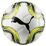 Puma Final Lite 290 g Fußball, White-Lemon Tonic Black, 4