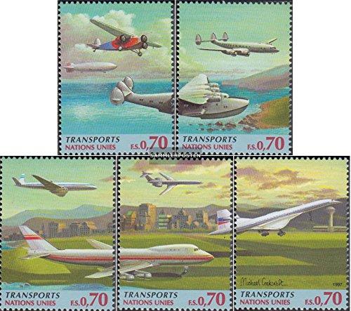 Prophila UNO - Genf 314-318 (kompl.Ausg.) 1997 Verkehrswesen (Briefmarken für Sammler) Luftfahrt