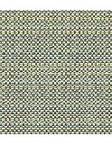 Polsterstoff Möbelstoff Bezugsstoff Meterware für Stühle, Eckbänke, etc. - Colada Blau Uni Polyester Schwer entflammbar- Muster