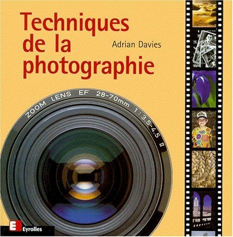 Techniques de la photoraphie