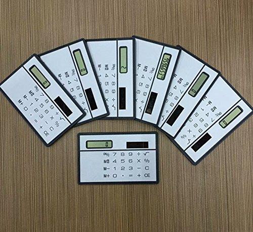 Taschenrechner Kreditkarte Größe Slimline Travel