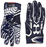 Under Armour F5 American Football Handschuhe - Midnight Navy 410 (X-Large)