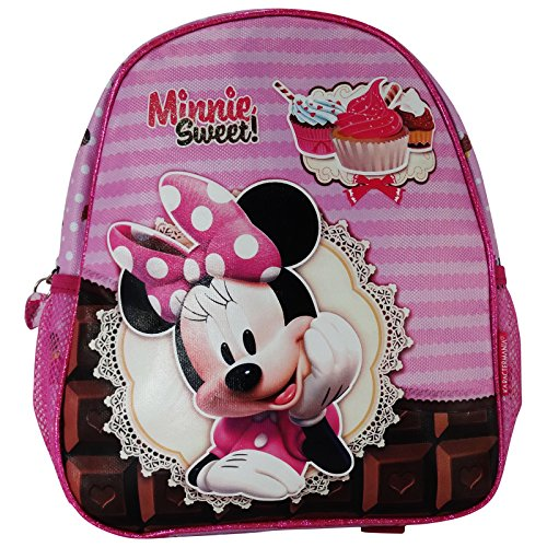 Disney Minnie Sweet Cake Mochilla Bolso Escolar por Niña Chica Asilo Lonchera