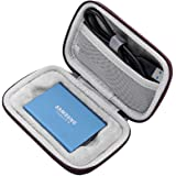 Nieuwe Draagtas Compatibel met Samsung T5 T3 T1 Draagbare 250 GB 500 1 TB 2 SSD USB 3.1 Externe Solid State Drives Opslag Rei
