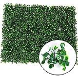 CVERY Künstlich Pflanze Gras Laub Rasen Wand Hecke Dekor Zaun Panel Künstlich Plastik Gras Aussen, 40 X 60 cm - Wie Bild Show, 40 x 60 cm