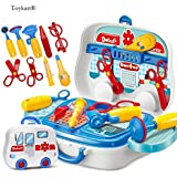Toykart® Latest Doctor Play Set with wheels, Pretend Play Set, Doctor Play Set for Kids, Premium Quality, Toys Great for Role Play