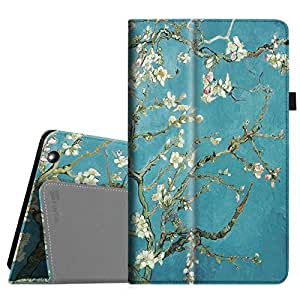 "For it British 10.1"" / it New British 10.1"" / it UK 10.1"" Tablet PC Case - Fintie Folio Premium PU Leather Stand Case Cover with Stylus Holder for it 10 inch Tablet, Blossom"