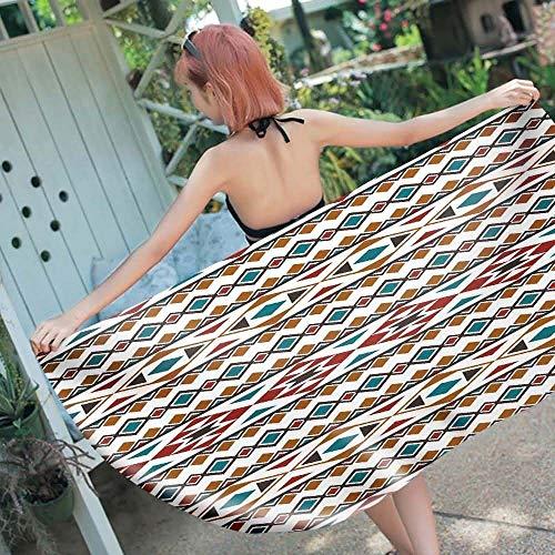 Kettyouper Tragbare Strandmatte Outdoor-Yogamatte Umweltfreundliche pigmentfeuchtigkeitsbeständige Trocknung Qualitätssicherung Für Frauen geeignet Kreative Mode (Color : 1, Size : 150 * 70cm) -