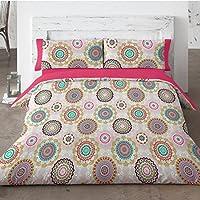 Burrito Blanco - Funda nórdica 455 Rosa de cama de 135x190/200 cm