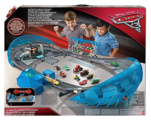 Disney Cars FCW02 Pista Ultimate Florida Speedway (1 macchina inclusa)