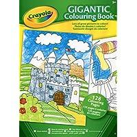 Crayola - Libro da colorare gigante, formato A4