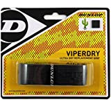 Dunlop Sports Viperdry Replacement Grip Pack (Black, Pack of 12)