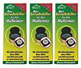 18 x Ahrenshof Der Geruchskiller für den Mülleimer, Mülleimerduft, Gerruchsstopp, Geruchsentferner