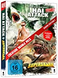 DVD Cover 'Creature Double Pack - SHARK Edition 2: Hai Attack & Supershark (2-Disc Set)