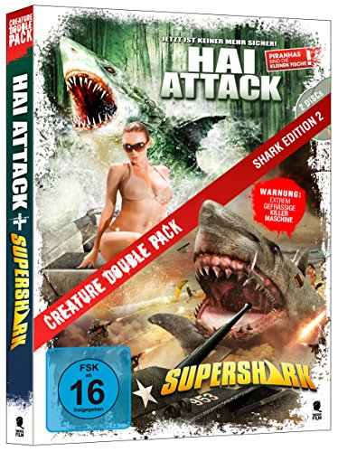 Creature Double Pack - SHARK Edition 2: Hai Attack & Supershark (2-Disc Set)
