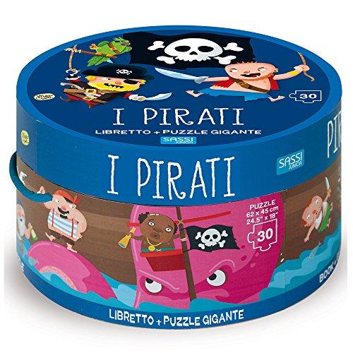Pirati. Ediz. a colori. Con puzzle