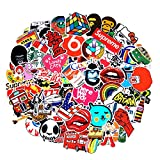 2018 Latest Style 200Pack SuprCool Stickers Set Random Sticker Decals For Water Bottle Laptop Cellphone Skateboard Bicycle Motorcycle Car Bumper Luggage Travel Case. Etc (Random 200pcs)