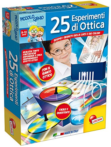 Lisciani 48984 Kit de experimentos Juguete y Kit de Ciencia para niños - Juguetes y Kits de Ciencia para niños (Física, Kit de experimentos, 7 año(s), Niño/niña, 10 año(s)