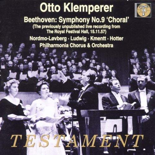 Symphonie n°9 avec choeurs   (Coll. Testament)